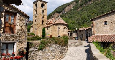 Beget, pueblo de piedra en Girona