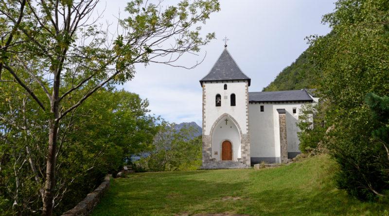 Ermita de Santa Elena en Biescas