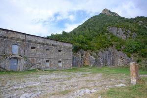Fuerte en la zona de la Ermita de Santa Elena