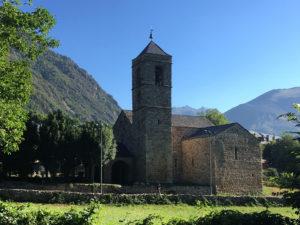 Iglesia de San Félix, tras el camping Boneta